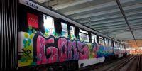 Metro adjudica el servicio de perros contra graffitis y a los cuatro días lo anula