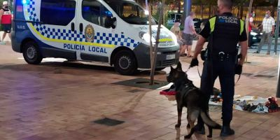 Agentes caninos, orgullo de  laUnidadOperativa de Algeciras