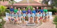 Perros de apoyo ayudan a los rescatistas en el derrumbe de Florida